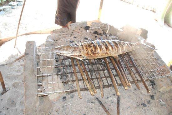 Lokobe Nature Special Reserve: Pesce alla griglia