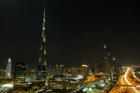 Dusit  Thani Dubai: View from room 2901