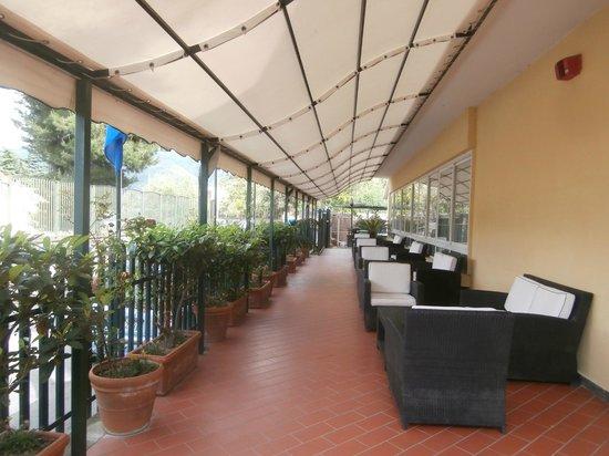 Hotel Villa Serena: Nice conservatory