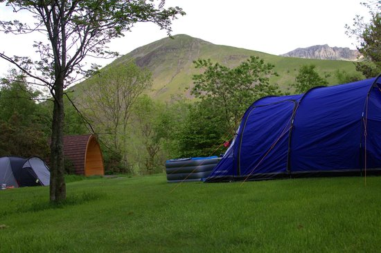 Wasdale National Trust Campsite : great views