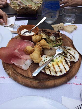 da Bobo all'Acciaiolo: Antipasto