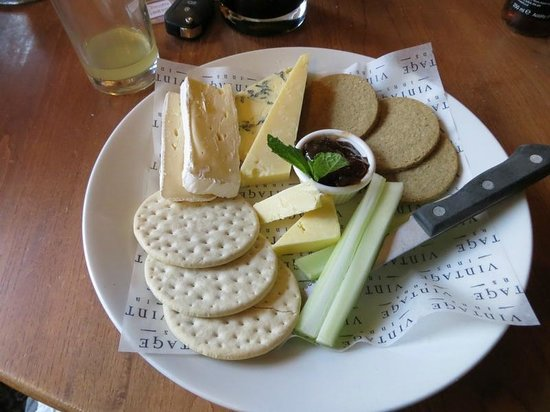 The Firecrest: Cheese board