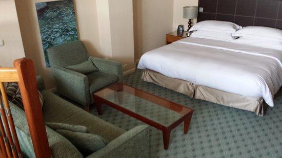 Hilton Dresden Hotel : bedroom