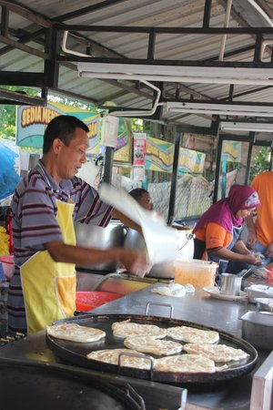 Kampung Baru Hawker Stalls : A local hawker stall.