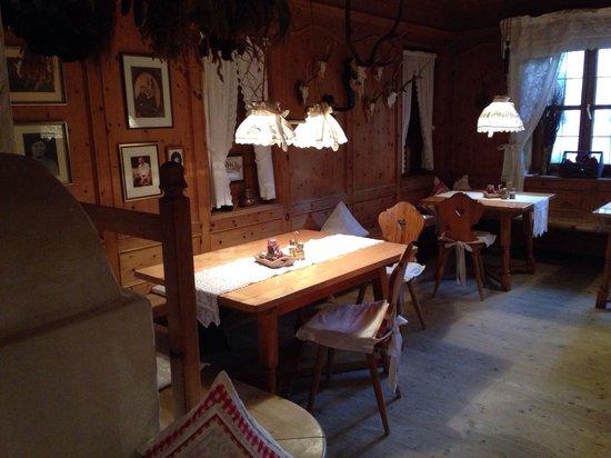 Hotel Das Rübezahl: Nebenraum vom Restaurant, sehr gemütlich