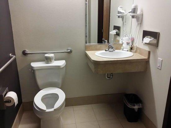 Super 8 Quebec City : Salle de bain - WC