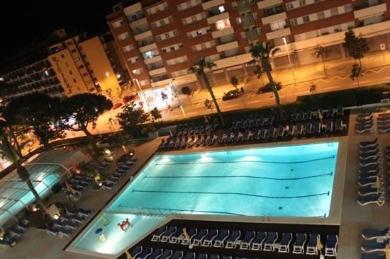 GHT Oasis Park & SPA: вид с балкона