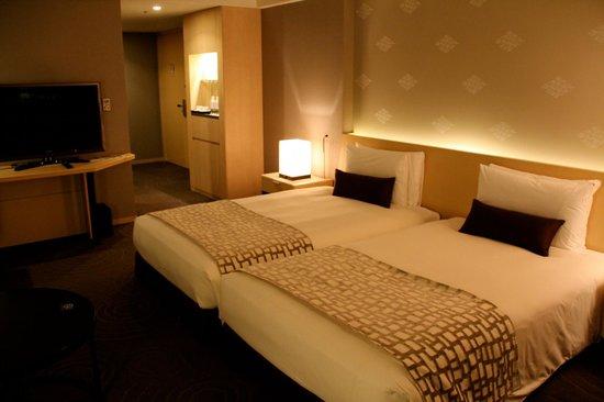 The Capitol Hotel Tokyu : Eckzimmer