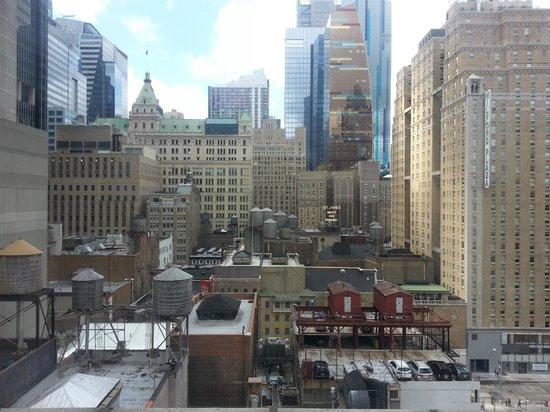 Paramount Hotel Times Square New York: vistas desde la ventana