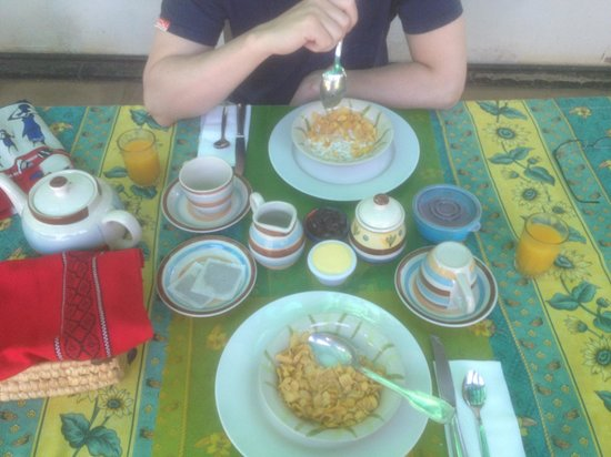 Tabonina Guesthouse: Breakfast