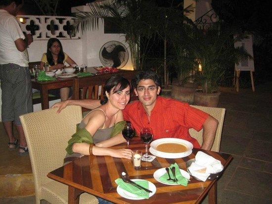 Cavala Seaside Resort: Dinner at Cavala_Feb2011