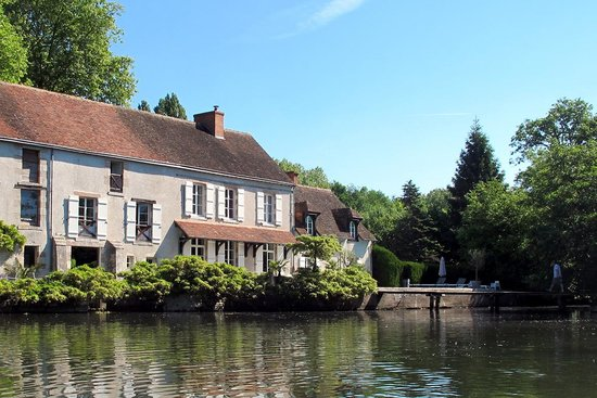 Moulin St Julien : vue du Loiret