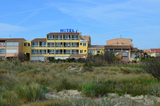 Hotel Les Dunes : Hotel vue des dunes