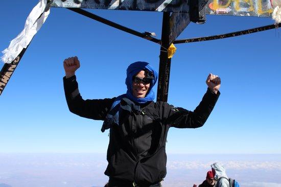 Mount Toubkal : I made it