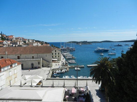 The Palace Hvar Hotel : View from the window