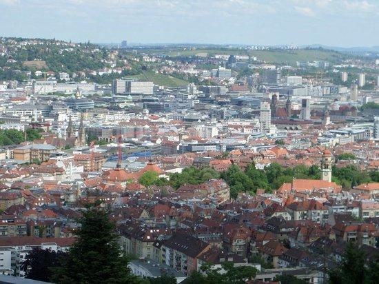 Stuttgart Rack Railway : View Across The City