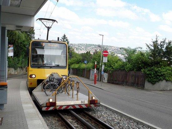 Stuttgart Rack Railway : Cycle Capacity