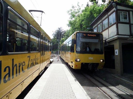 Stuttgart Rack Railway : Cog Railway