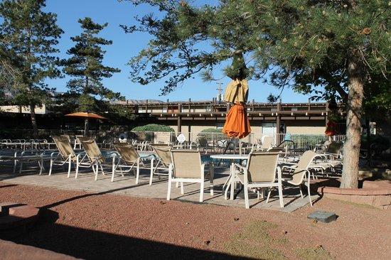 Kayenta Monument Valley Inn : La piscine