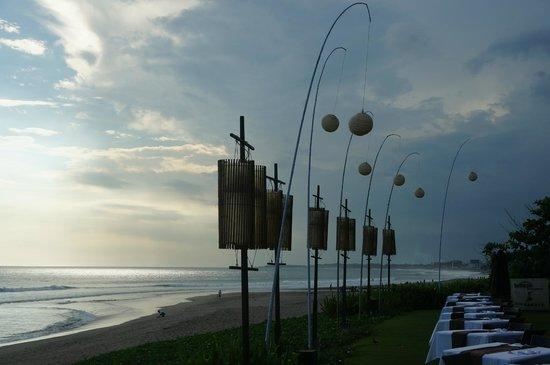 The Samaya Bali Seminyak : dineren met zeezicht