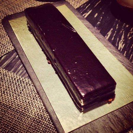 Espai Kru: Gateau au chocolat avec génoise et mousse