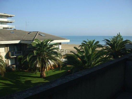 Residence Leonardo & Silville: vista dal balcone
