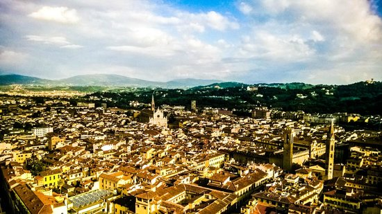 A Florence View B&B : The View from Top of the Duomo