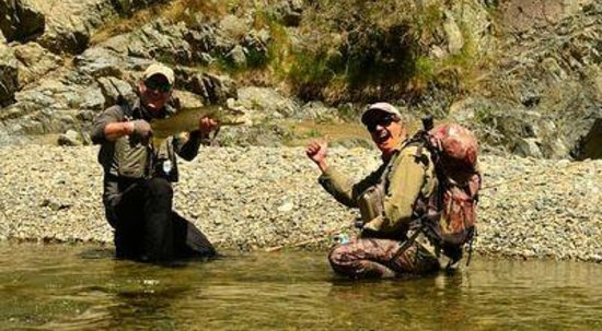 Southern Rivers Fly Fishing: Nice trout!