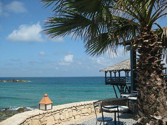Marine Club Beach Resort: pontile ristorante