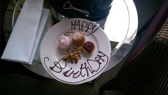 The Mandeville Hotel: Surprise Birthday treats!