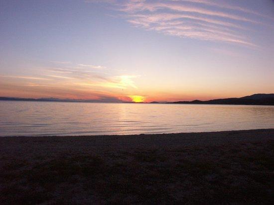 Toroni Blue Sea Hotel & Spa: Sunset