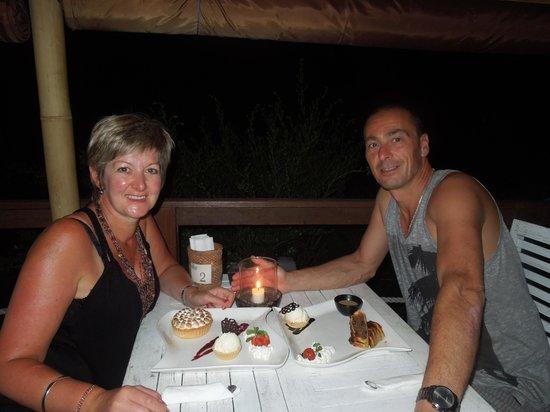 The Beach House Resort: love the dessert