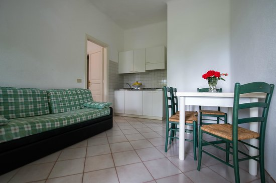 Residence San Domenico: Appartamento Bilocale, soggiorno