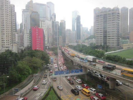 Cosmopolitan Hotel Hong Kong: View from my room