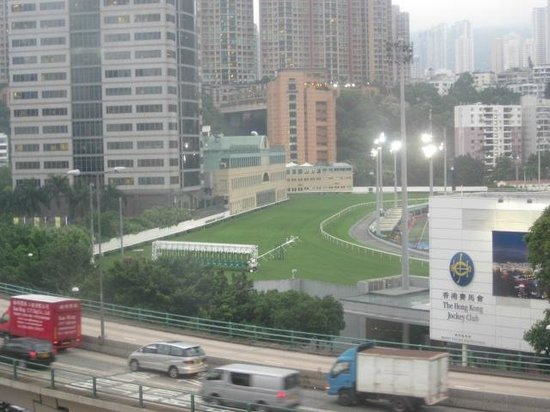 Cosmopolitan Hotel Hong Kong : View of the Happy Valley Race Course, from my room