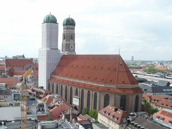 Church of Our Lady (Frauenkirche): Work In Progress