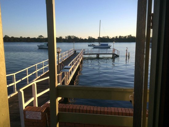 Comfort Inn Aquatic: view from the cabin