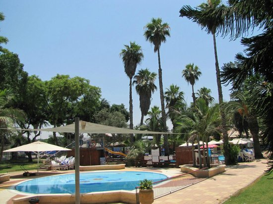 Kfar Maccabiah Hotel & Suites : Hotel grounds