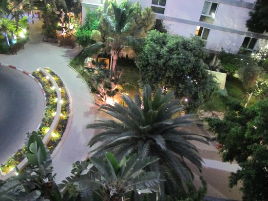 Kfar Maccabiah Hotel & Suites: View from our room