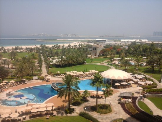 Le Royal Meridien Beach Resort & Spa: view from our deluxe sea view room