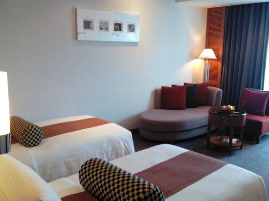 Amari Watergate Bangkok: deluxe room