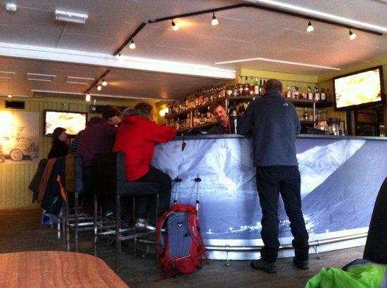 Svalbar: Bar area