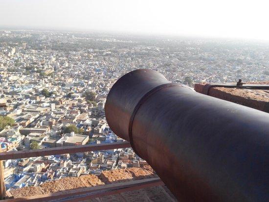 Forteresse de Meherangarh : View of City