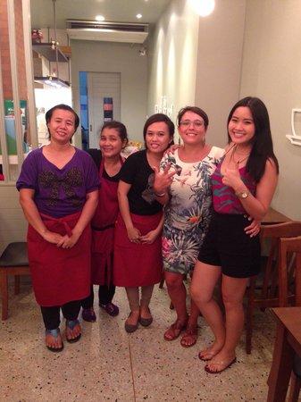 Nalin Kitchen: Lo staff!!! Grazie
