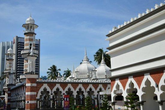 Jamek Mosque : view