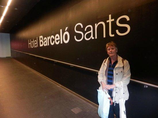 Barcelo Sants: Hotel entrance