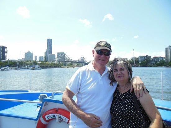 CityCat Ferry : City Cat ride February 2014