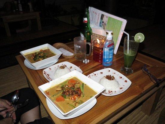 The Fair Warung Bale by the Fair Future Foundation: Our meals