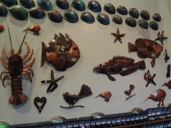Bella Vista Motel Kaikoura: art in a  shop