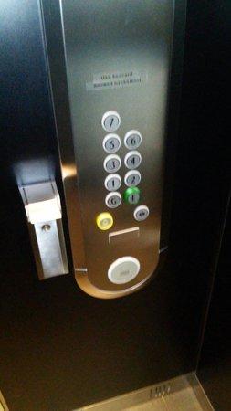 Scandic S:t Jorgen: Лифт